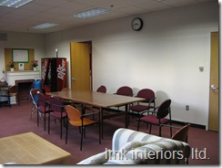 before: Hamilton Wenham High School Teacher's Lounge