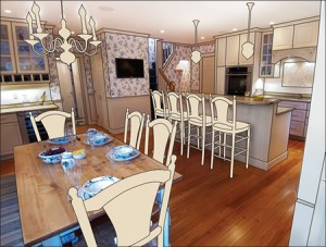 Interior Design for residential and small commercial clients.